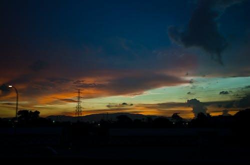 Kostnadsfri bild av himmel, natur, solnedgång