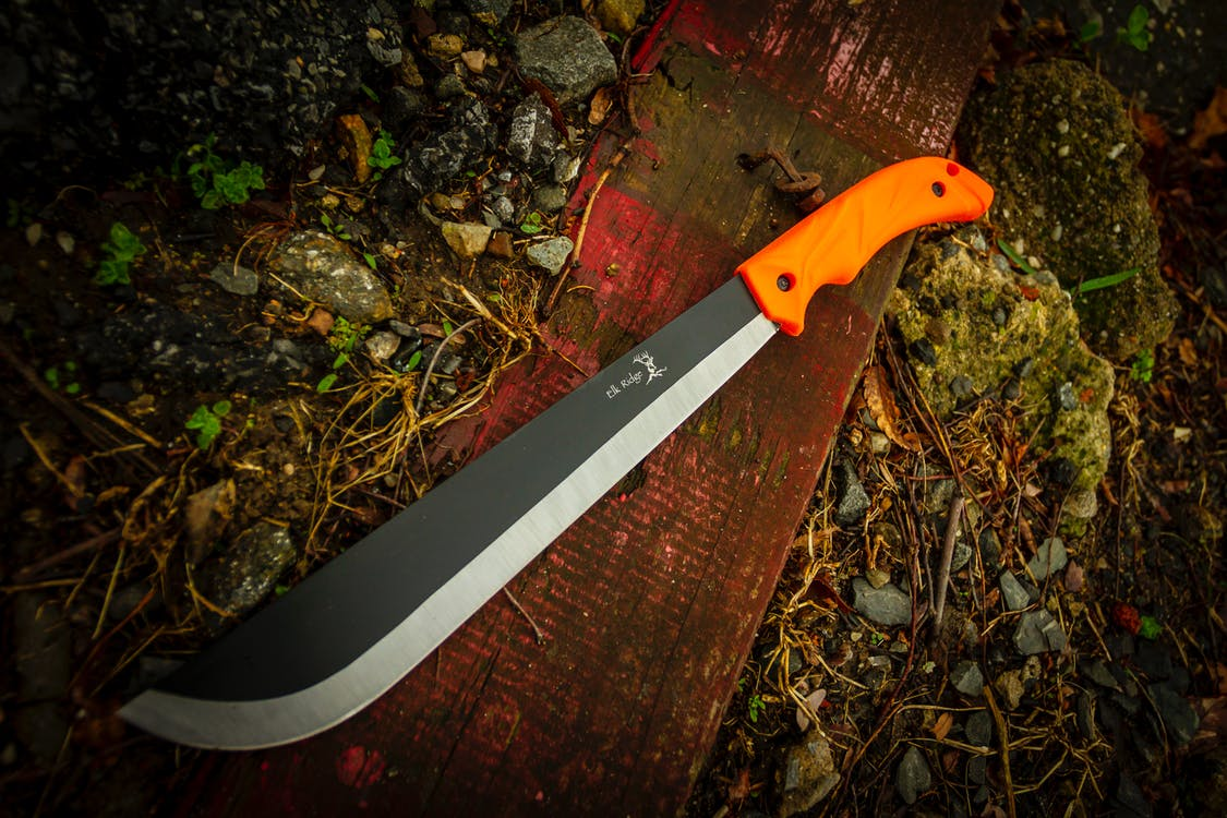 fixed blade, hunting, machete