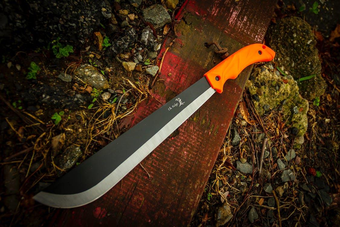 Free stock photo of fixed blade, hunting, machete