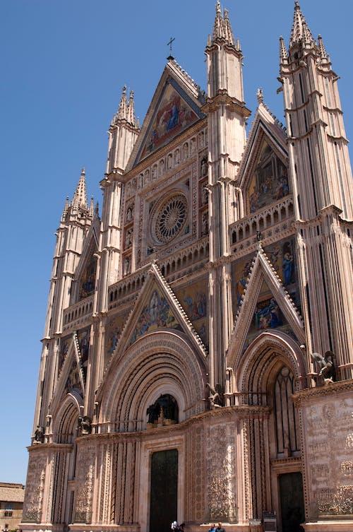 Free stock photo of cathedral, duomo, Duomo of Orvieto, italy
