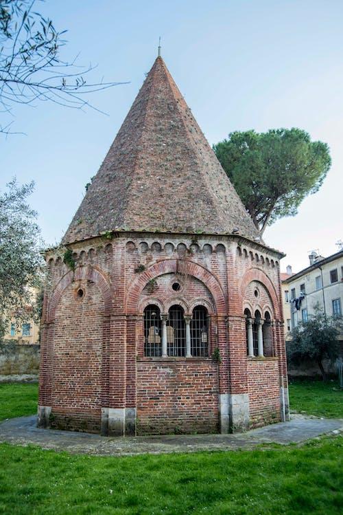 벽돌, 빨간, 예배당의 무료 스톡 사진