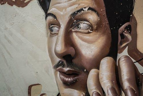 Free stock photo of art, graffiti, men, mural graffiti art