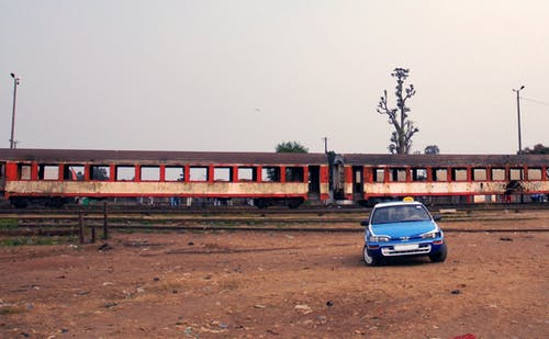 Free stock photo of africa, taxi, train