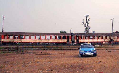 기차, 아프리카, 택시의 무료 스톡 사진