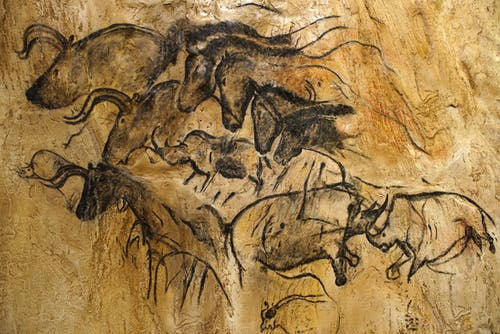 Free stock photo of ancient drawings on rocks, antique, art, cave art drawings