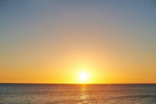 Ilmainen kuvapankkikuva tunnisteilla auringonlasku, meri