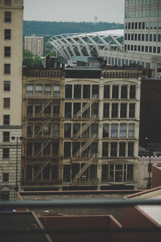 Gratis stockfoto met gebouwen, humeurig, plaats