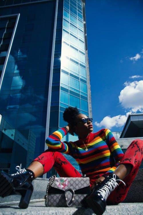 Foto d'estoc gratuïta de africà, arquitectura, assegut, ciutat