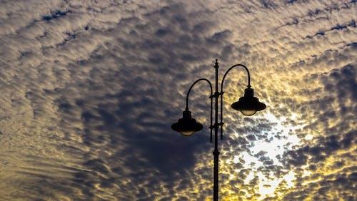 エルバ, ゴールド, バックライト付き, ランプの無料の写真素材