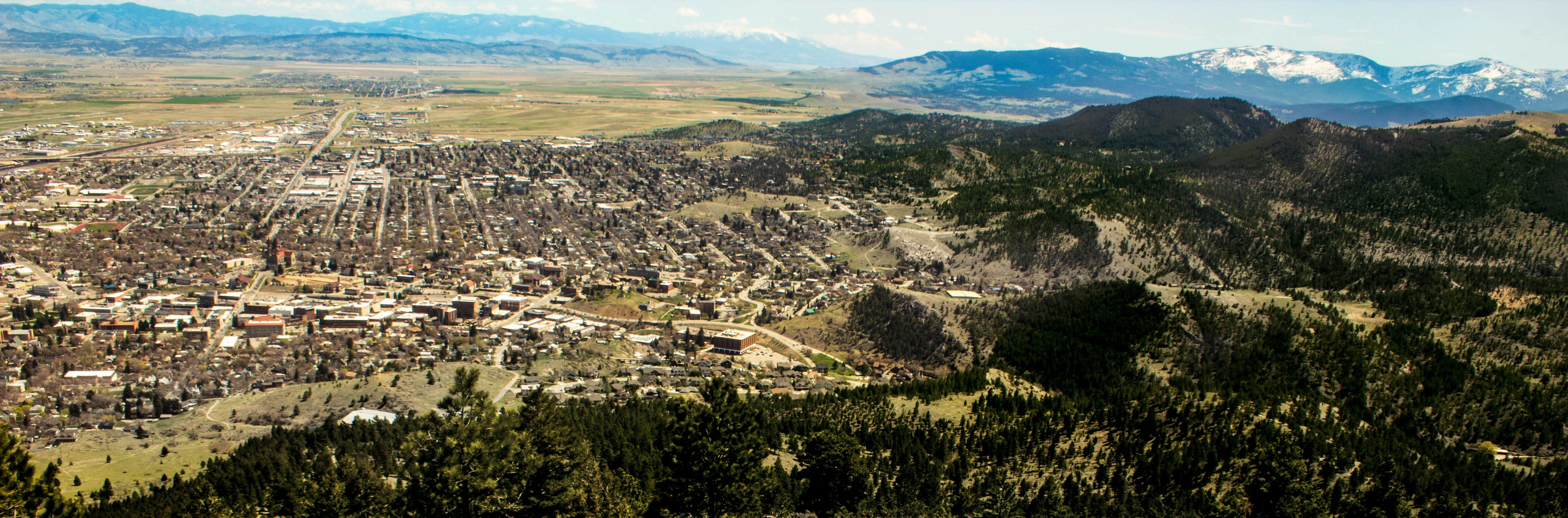 Free stock photo of helena montana, mountains, overlooking city