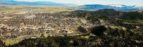 Free stock photo of helena montana, mountains, overlooking city