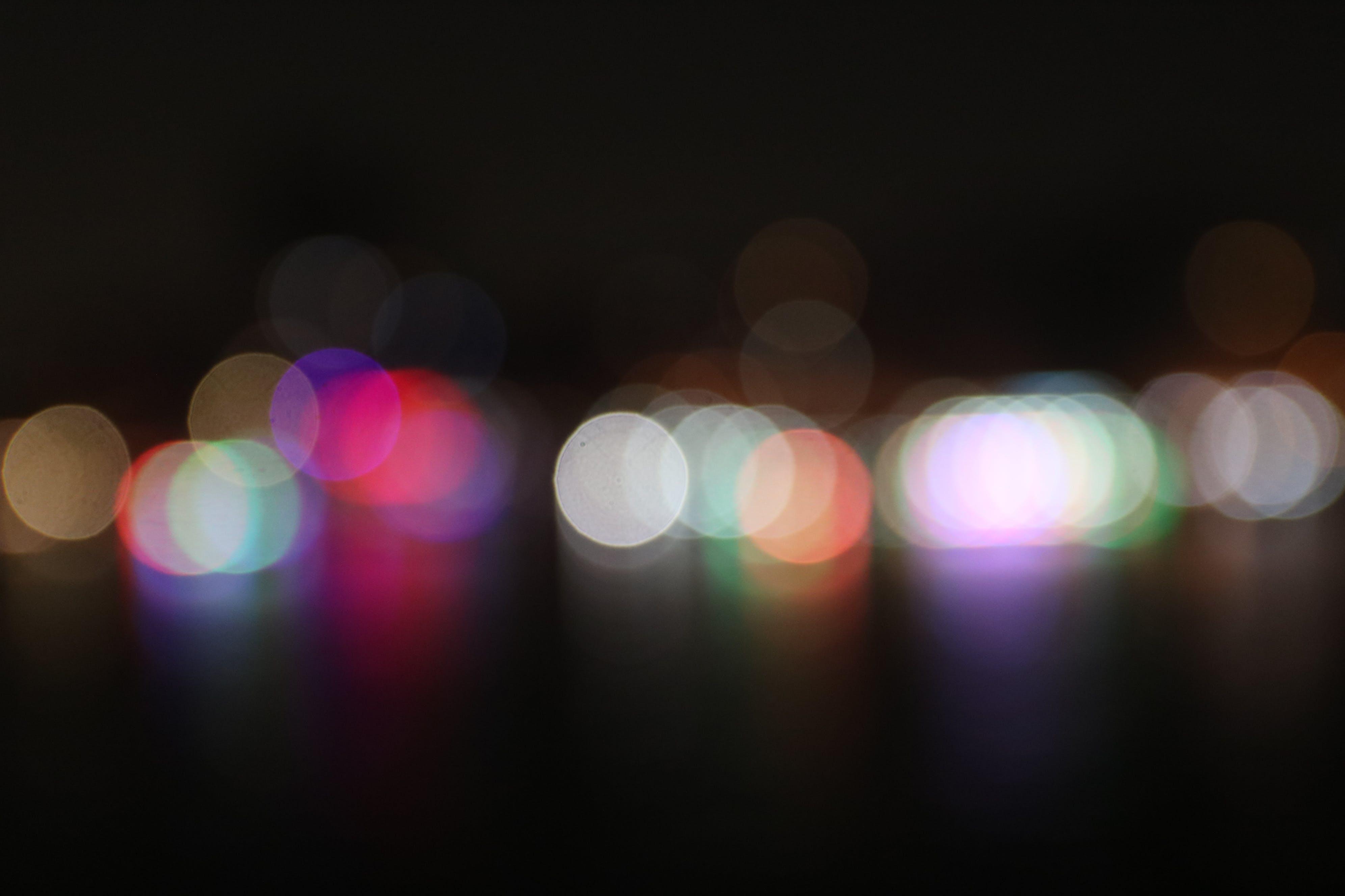 Free stock photo of lights, night, bokeh, night bokeh