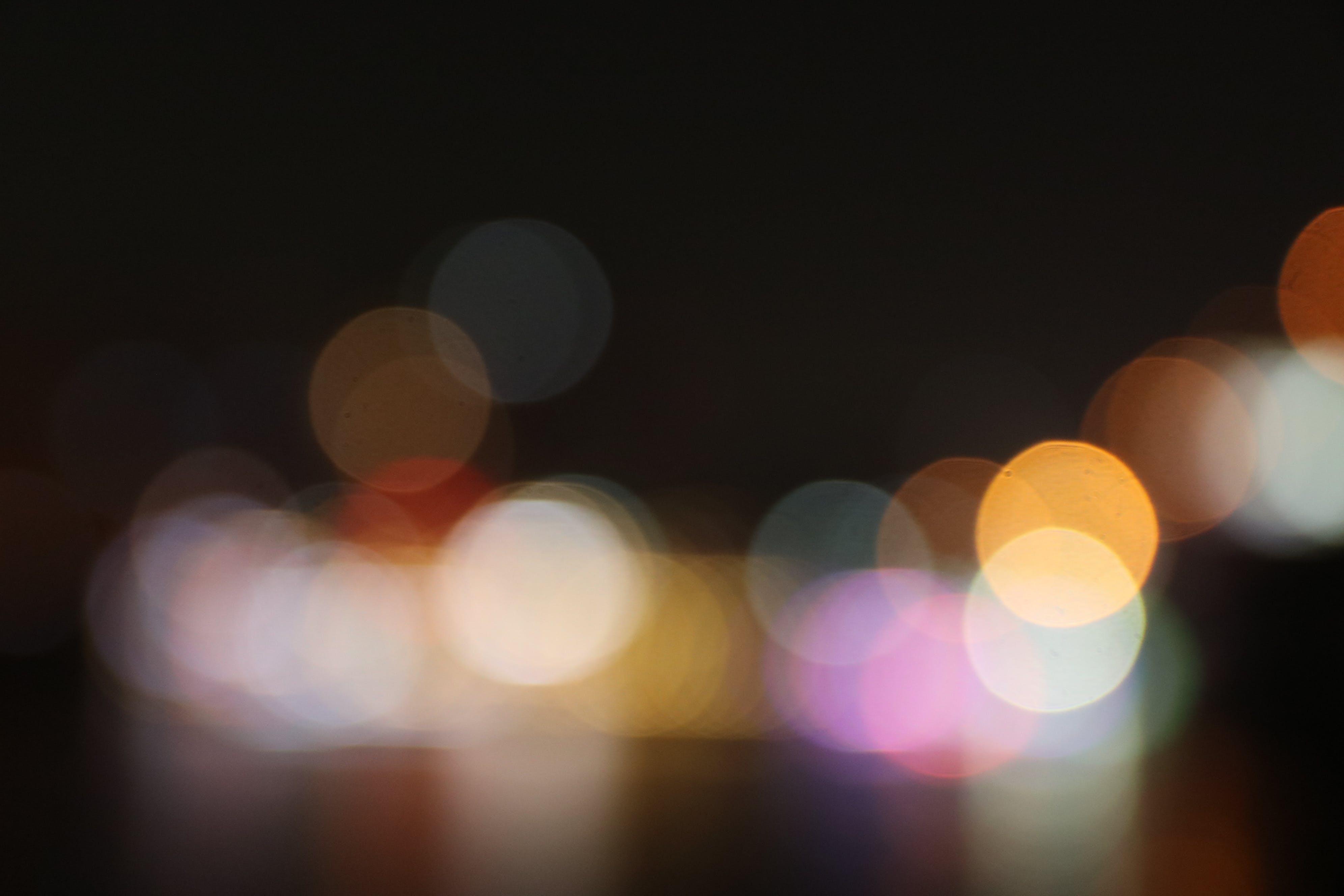 Free stock photo of bokeh, lights, night, night bokeh