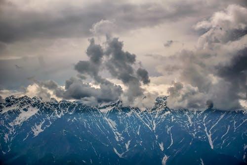 Darmowe zdjęcie z galerii z burza, góra, krajobraz, lód