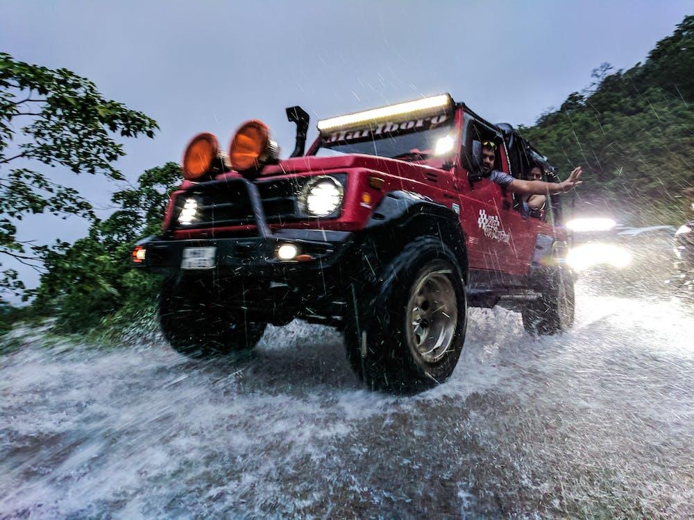 action, automobile, camion