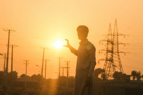 #outdoorchallenge, 亞洲人, 光效, 攝影 的 免費圖庫相片