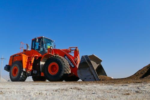 Free stock photo of construction, excavator