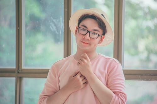 アイウェア, アジア人, アジア人の少年, おとこの無料の写真素材