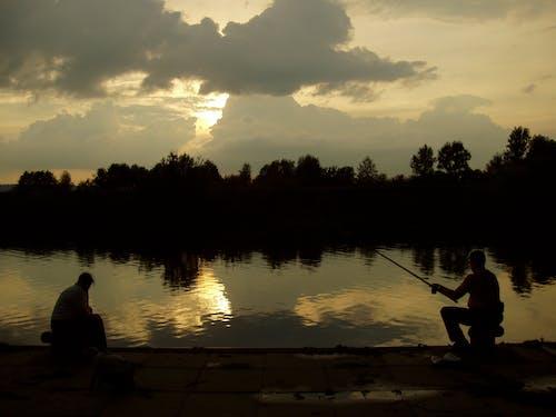 Fotos de stock gratuitas de agua, noche, oscuro, pescadores