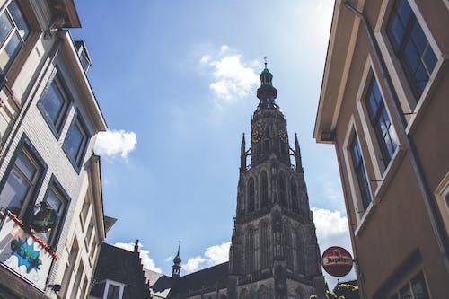 Free stock photo of blue sky, building, church