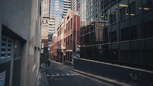 คลังภาพถ่ายฟรี ของ กระจก, กลางวัน, ตัวเมือง, ตึก