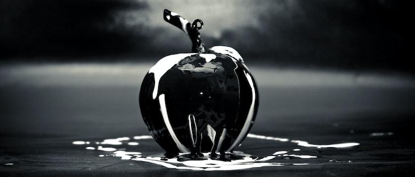 Free stock photo of art, creative, apple, glass