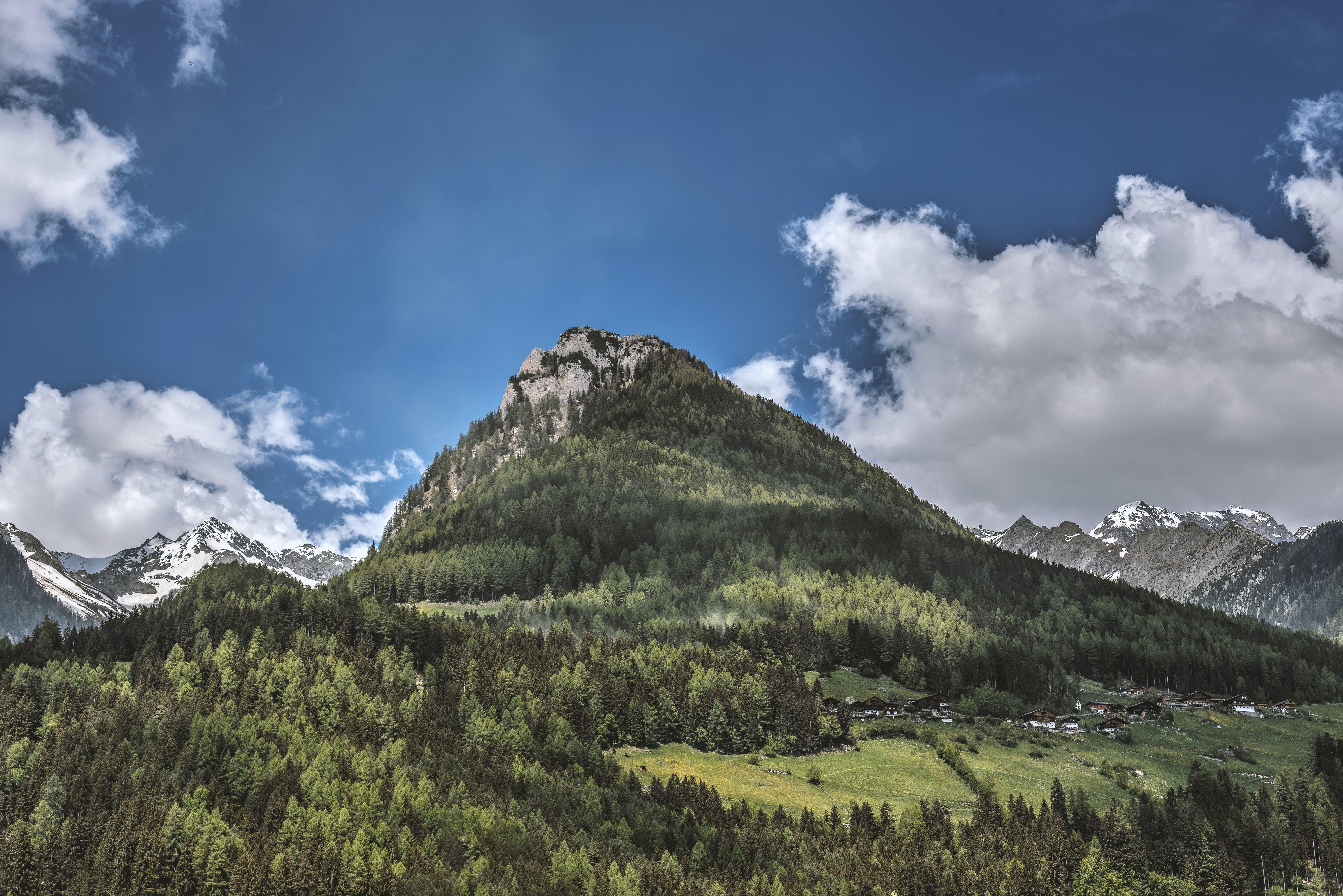 Photo of Mountain Range