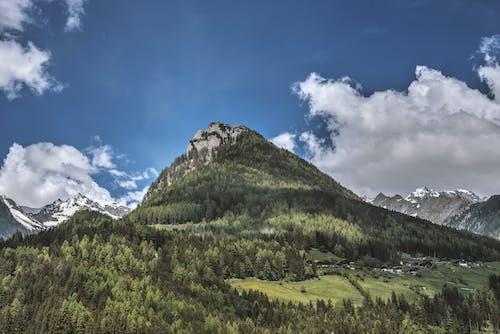 Ingyenes stockfotó asztali háttérkép, csúcs, domb, ég témában