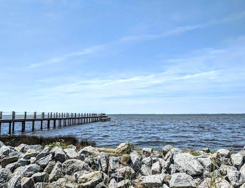 Бесплатное стоковое фото с берег, вид, вода, волны