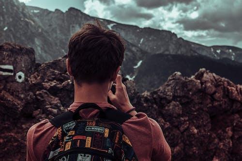 Základová fotografie zdarma na téma batoh, dobrodružství, hora, krajina