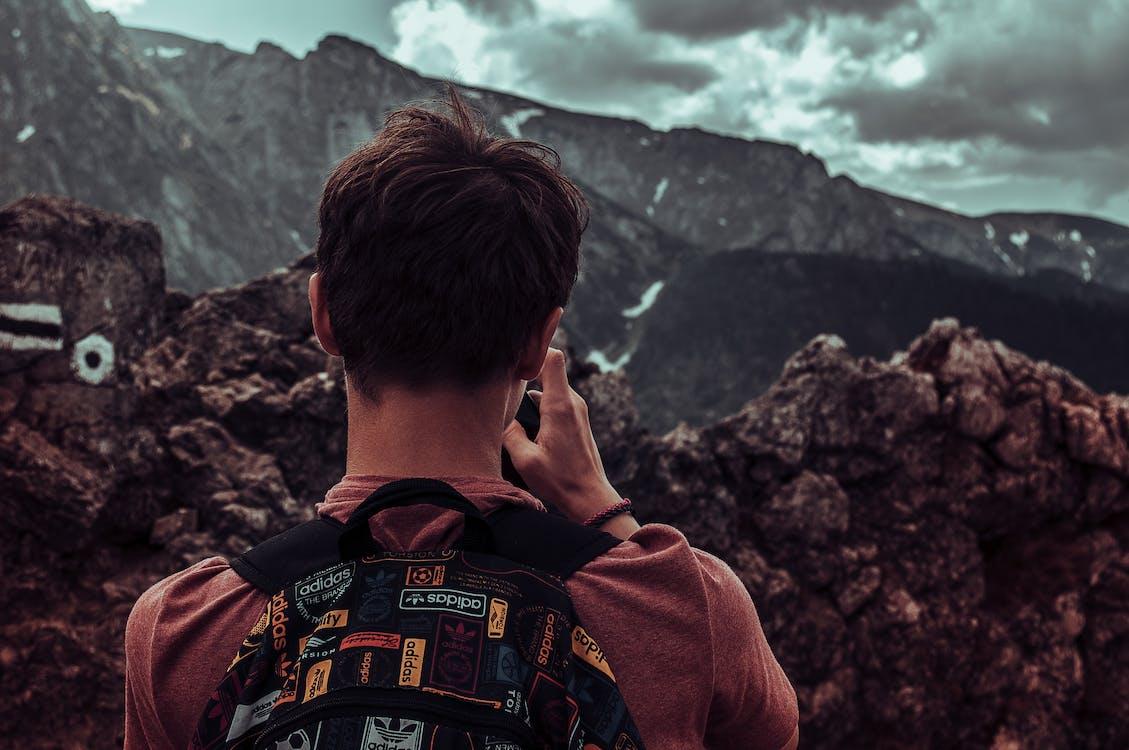 czas wolny, góra, krajobraz