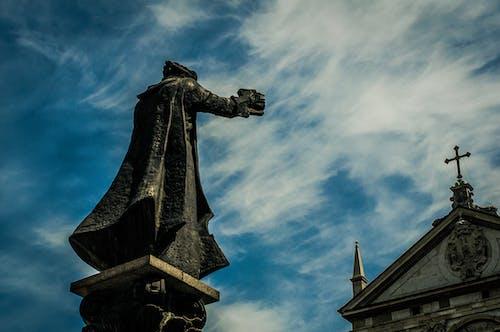 คลังภาพถ่ายฟรี ของ ข้าม, คริสเตียน, ฟ้าโปร่ง, รูปปั้น