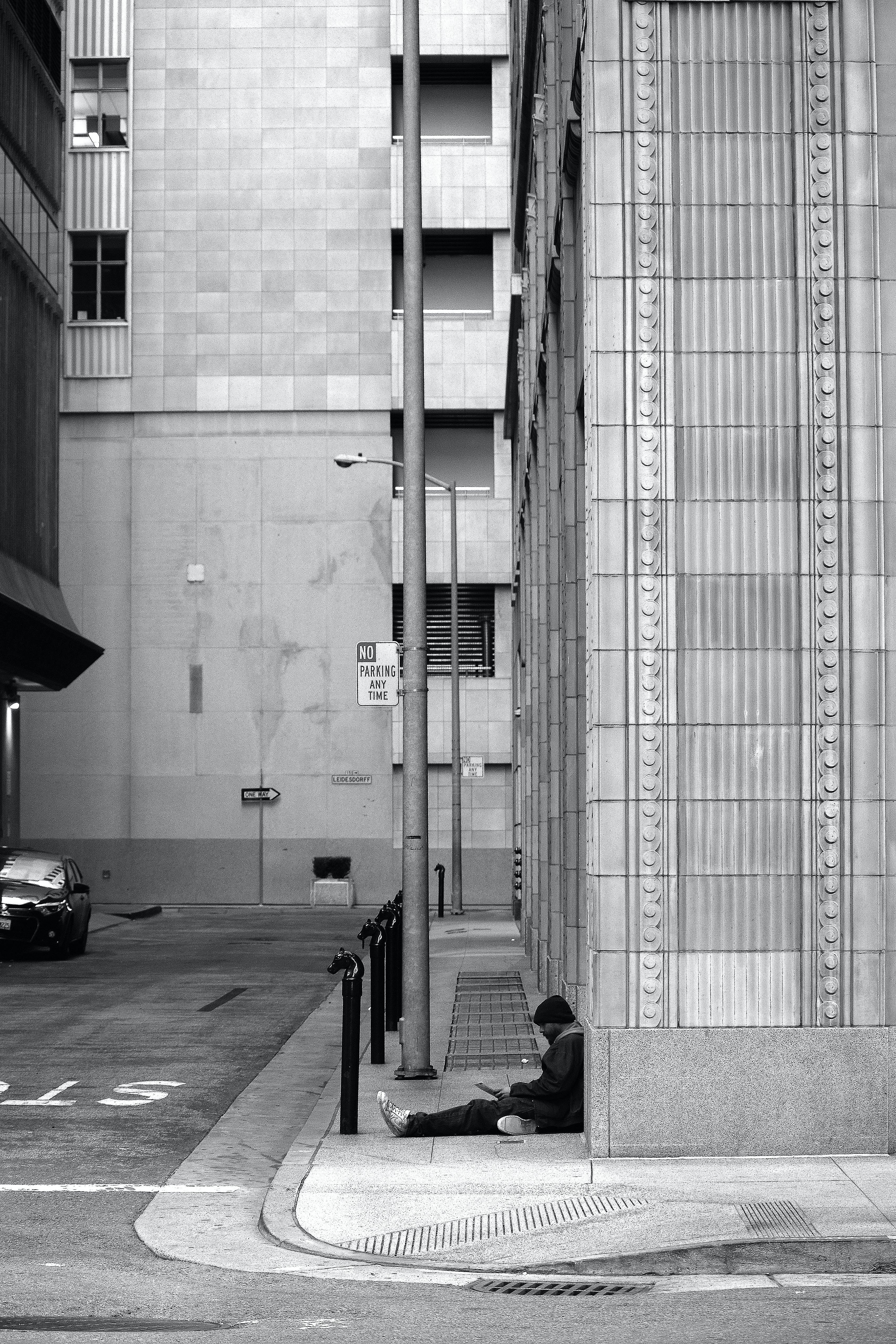 arquitectura, blanc i negre, buit