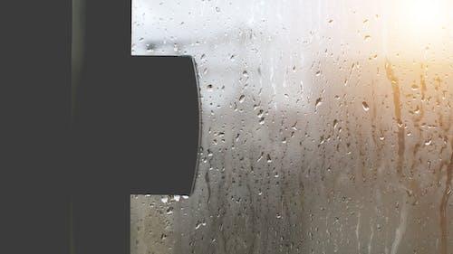 คลังภาพถ่ายฟรี ของ chovendo, chuva, janela, กระจก