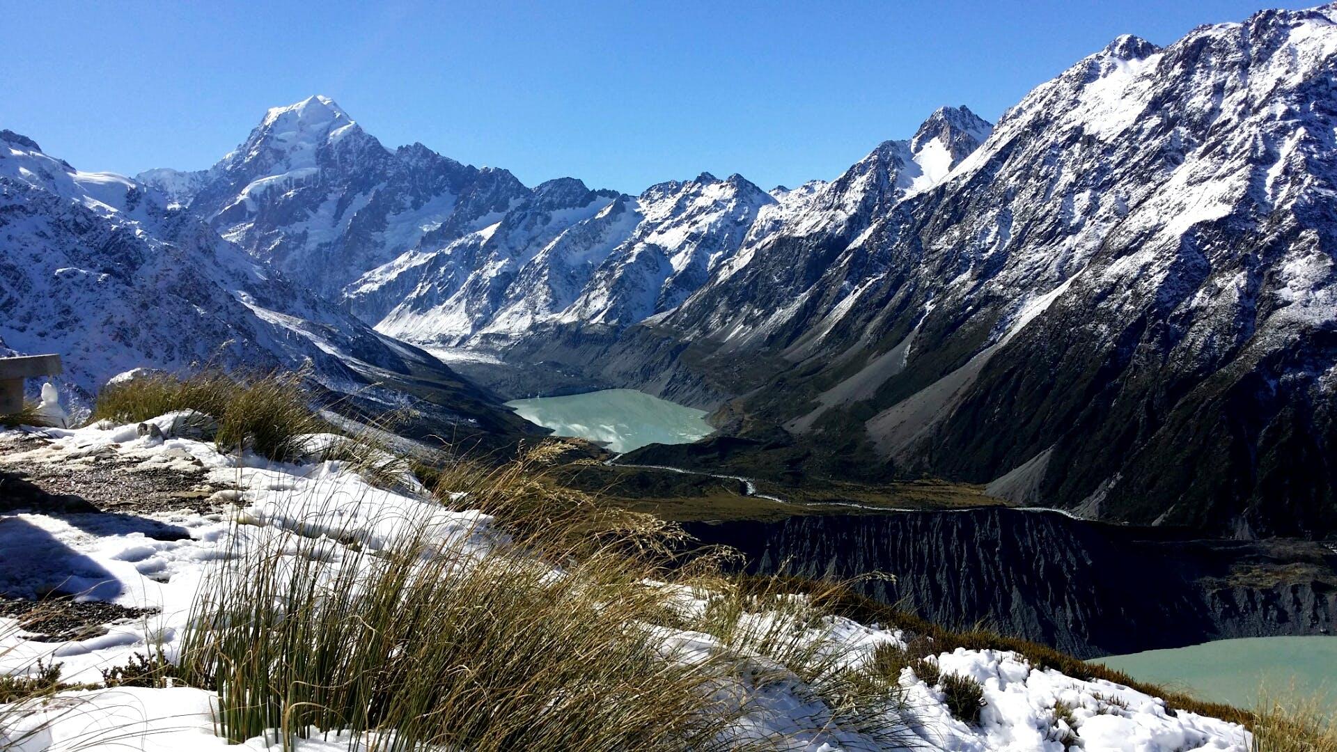 Kostenloses Stock Foto zu berge, kalt, neuseeland, reise