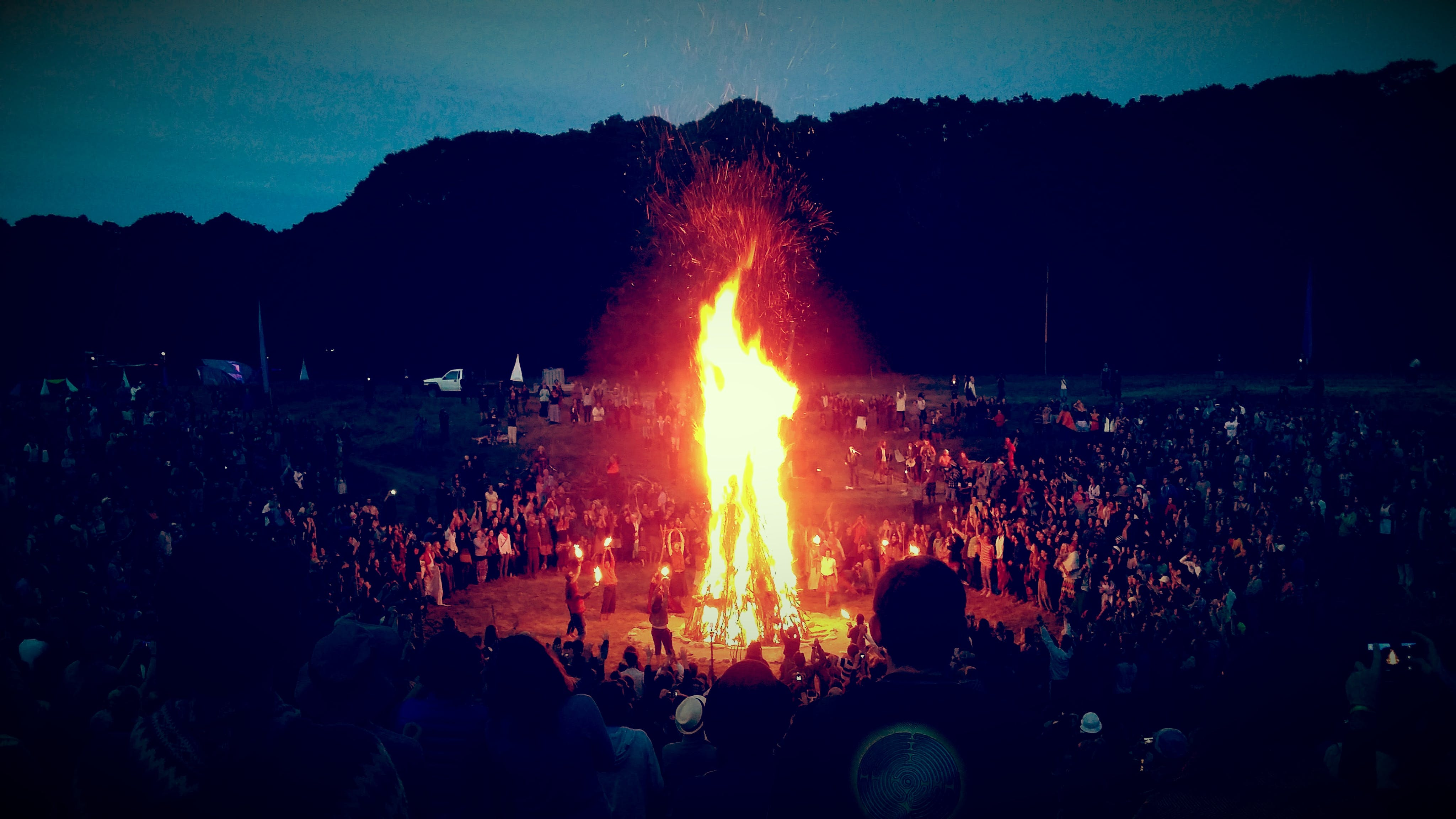 Free stock photo of atmosphere, bonfire, ceremony, dancing