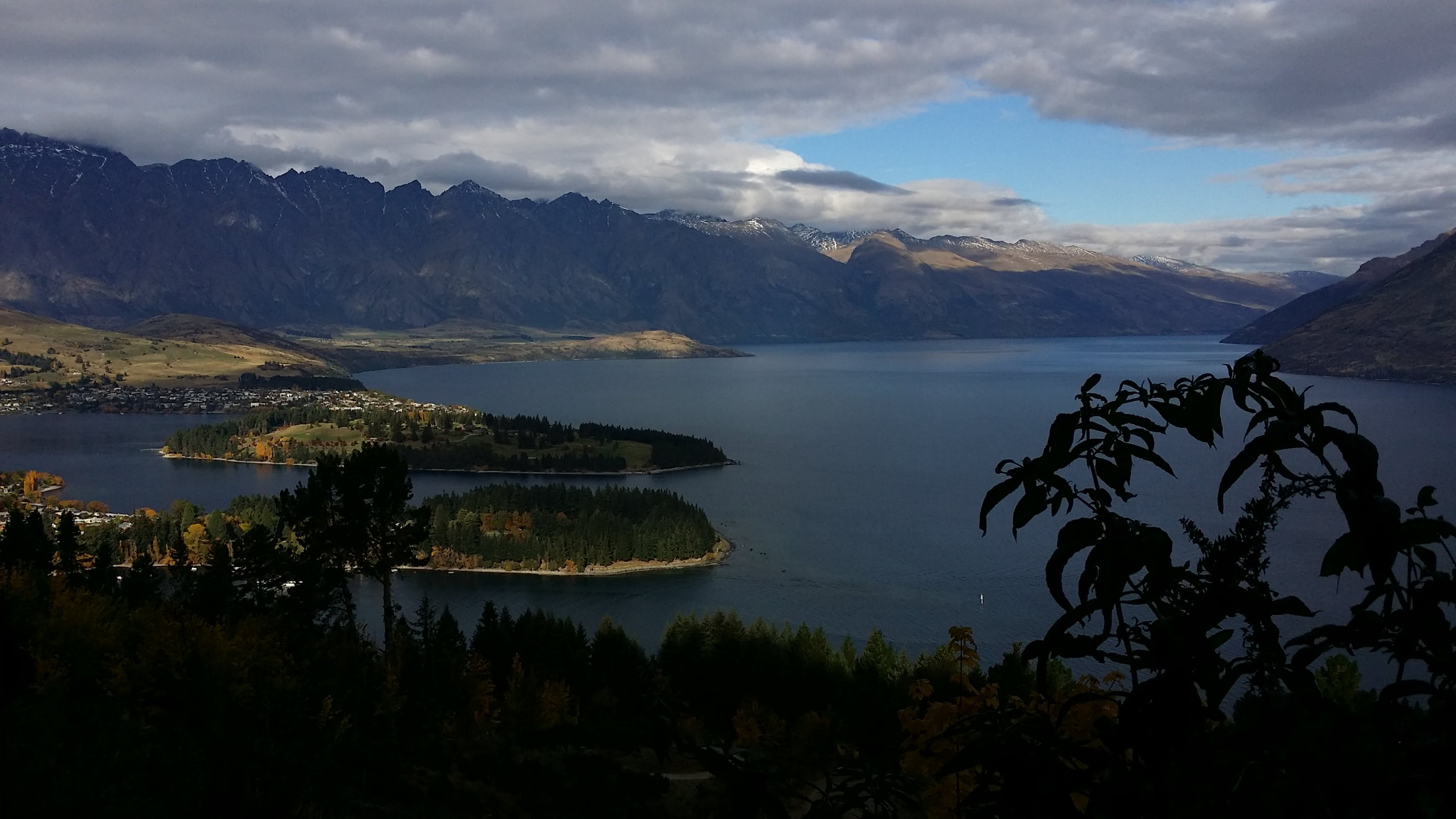 Free stock photo of blue, clouds, island, lake