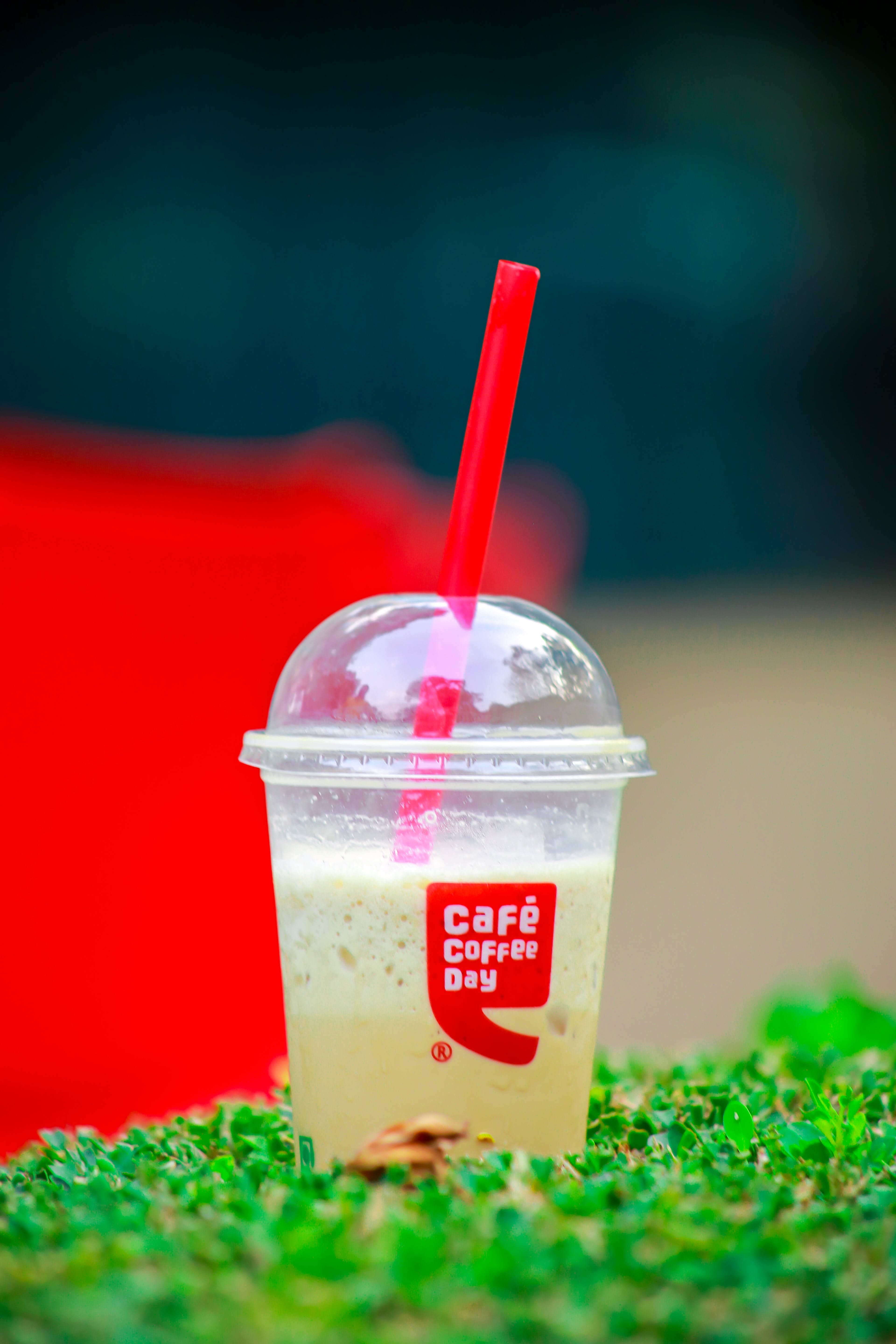 Close-Up Photography of Plastic Cup with Dome Lid