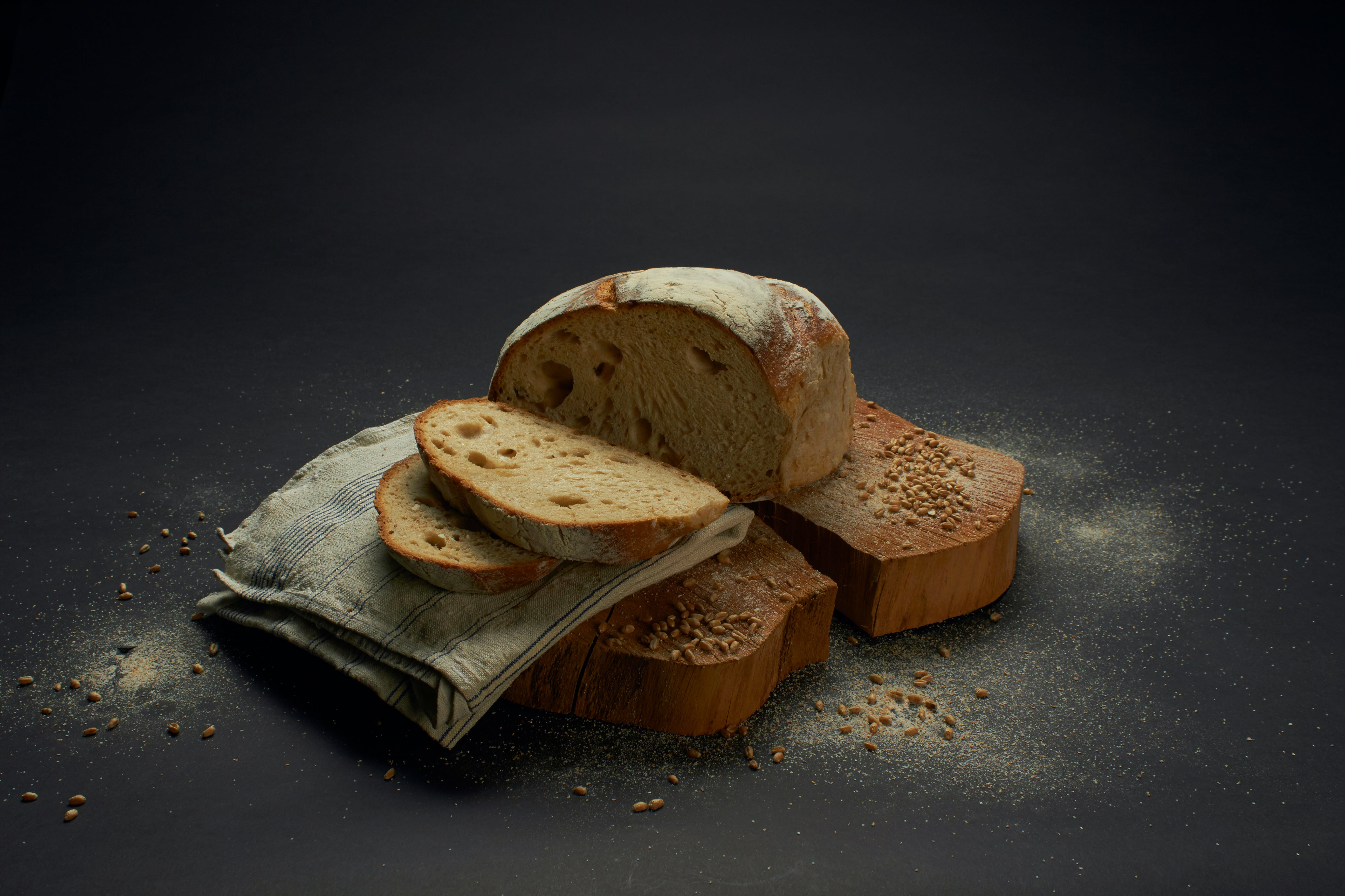 Photography of Sliced Bread