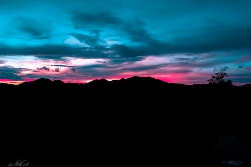 Immagine gratuita di altopiano, Filippine, montagne, tramonto