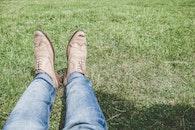 person, feet, legs