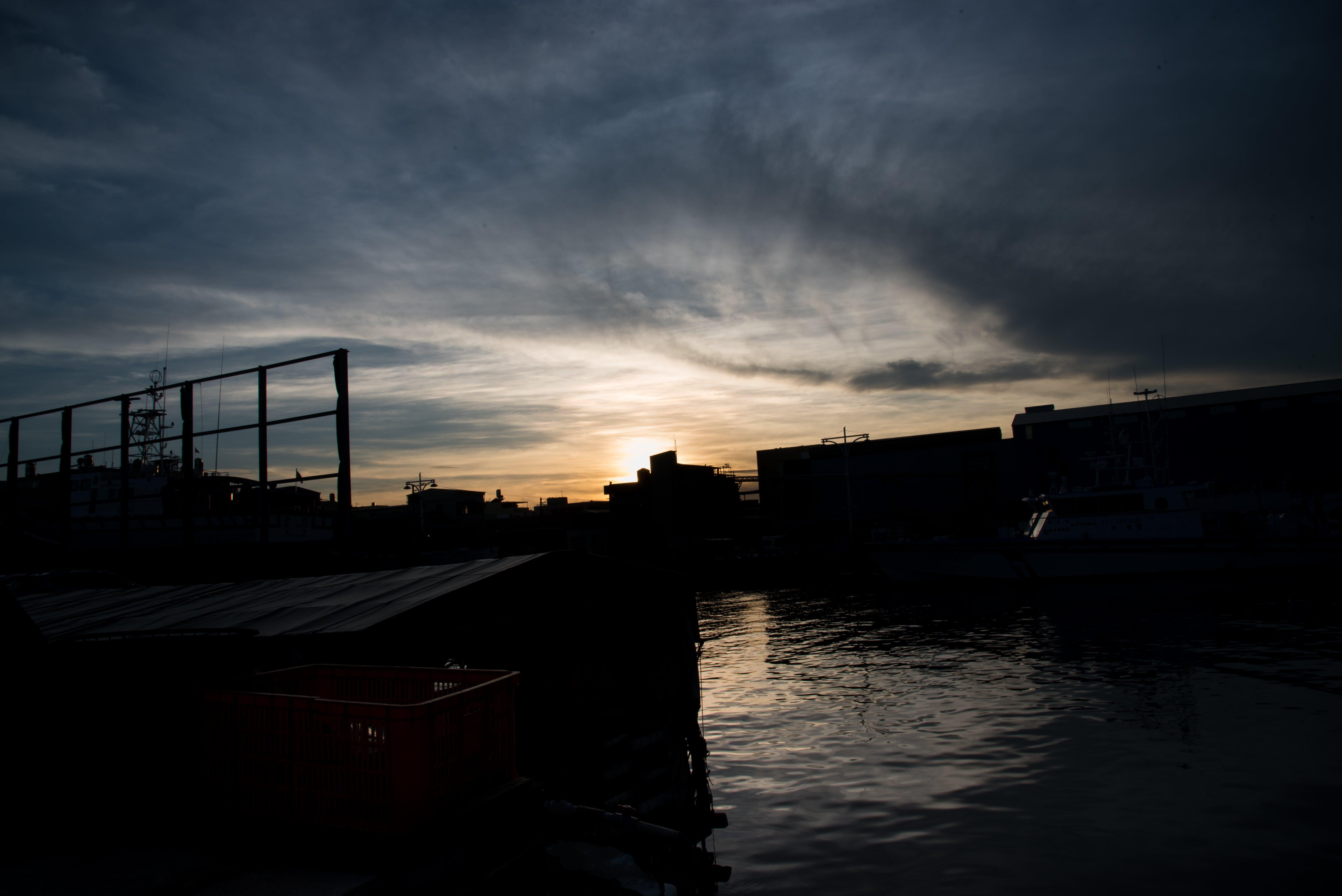Free stock photo of cloud, harbor, ocean, sea