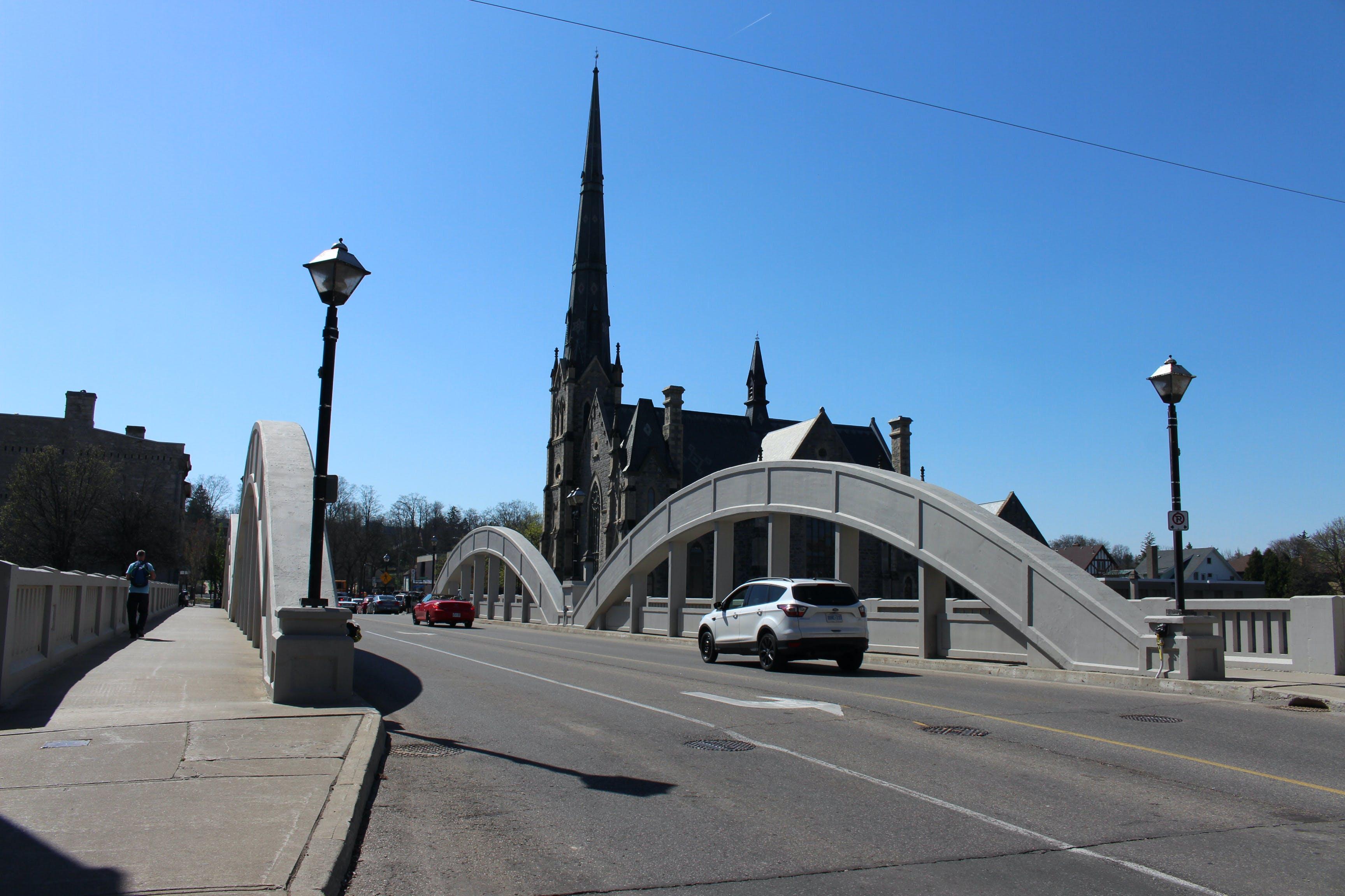 Free stock photo of bridge, city, road