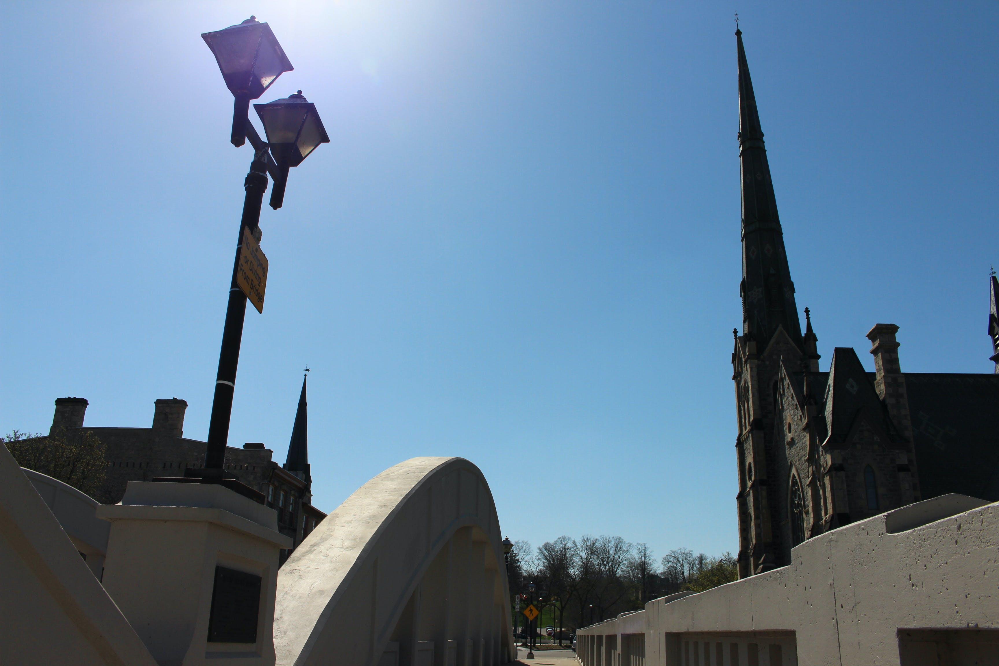 Free stock photo of church, city