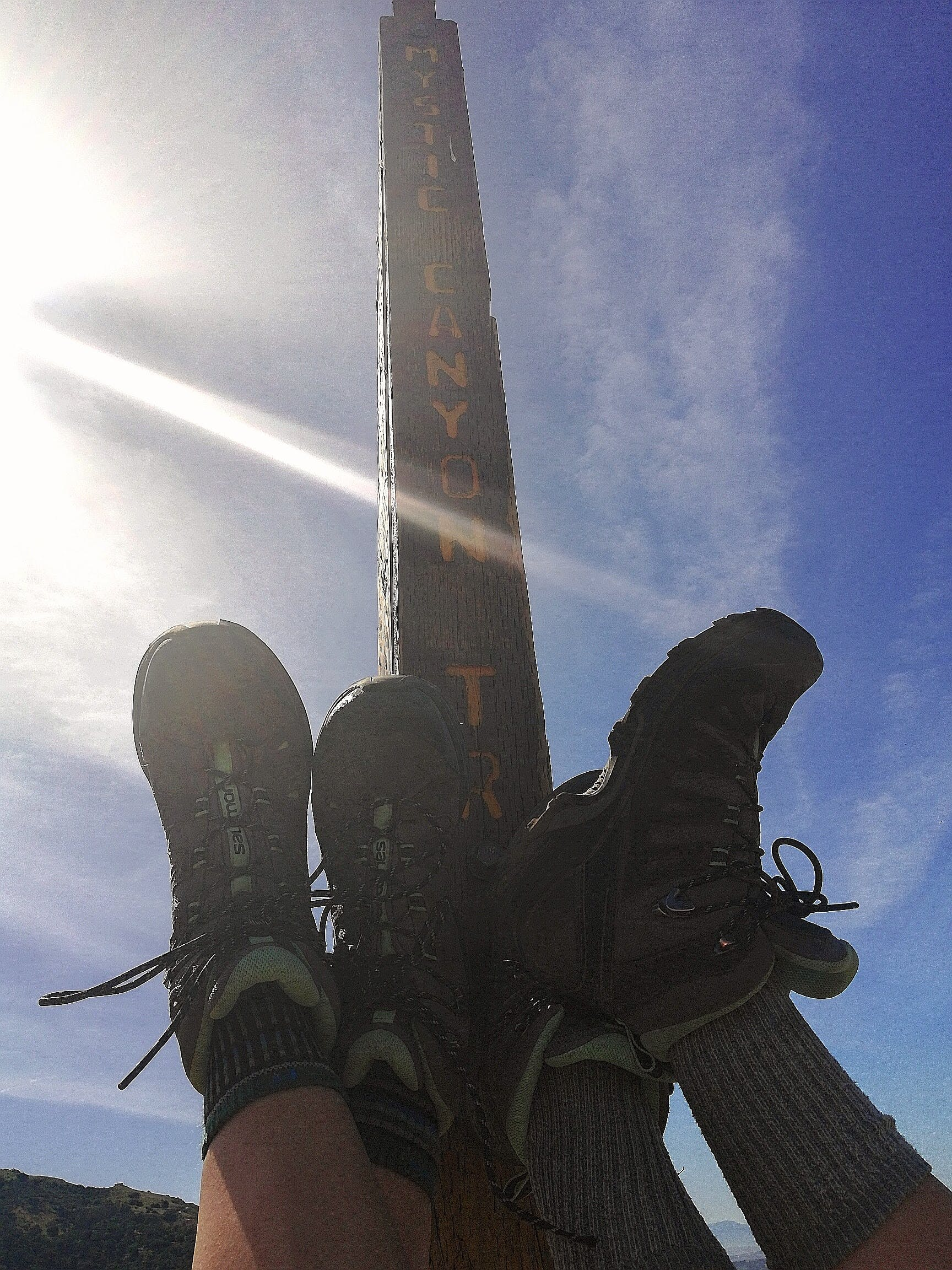 adventure, hiking boots, trails