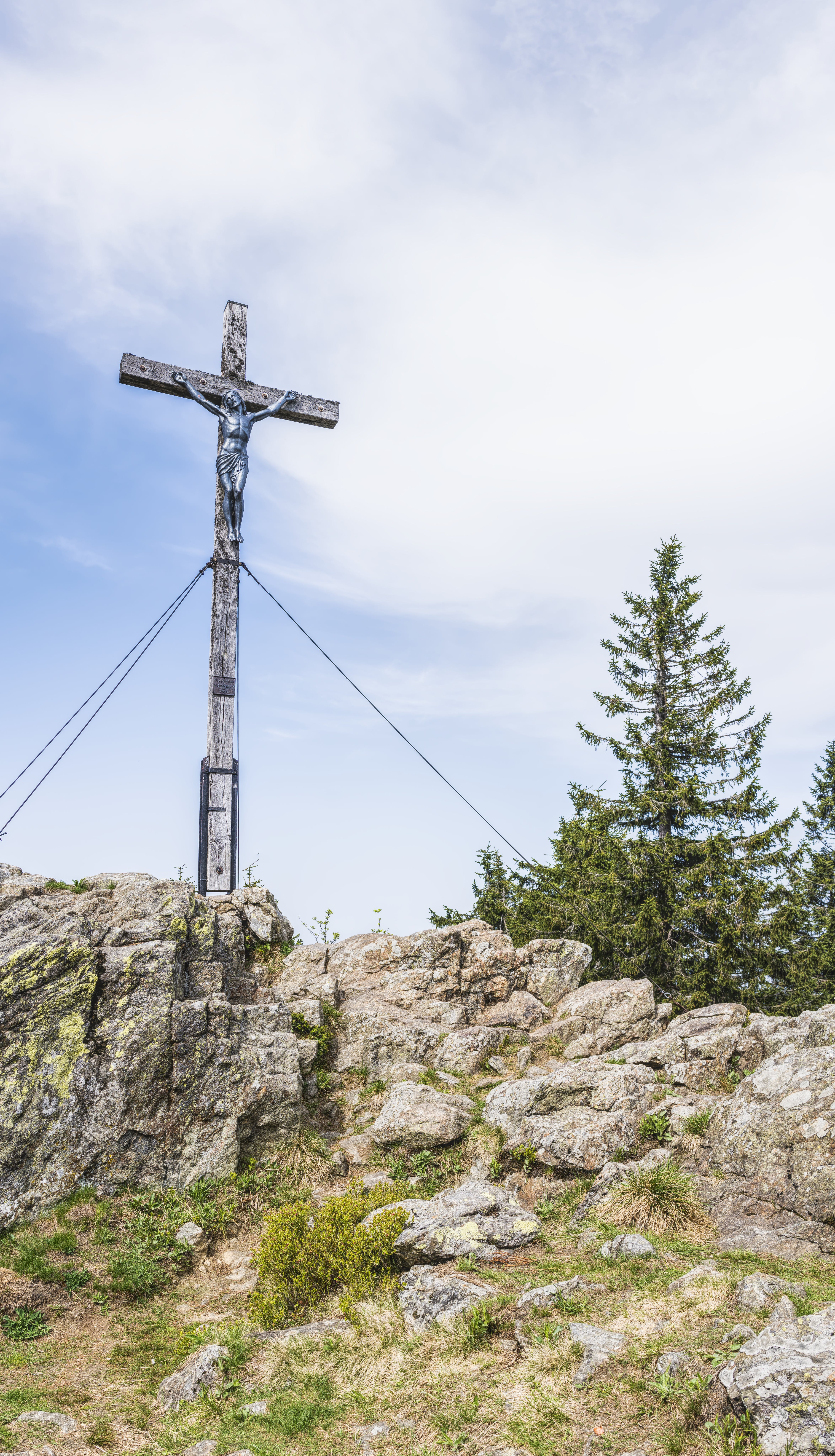 Crucifixion on Top of Stone Hill