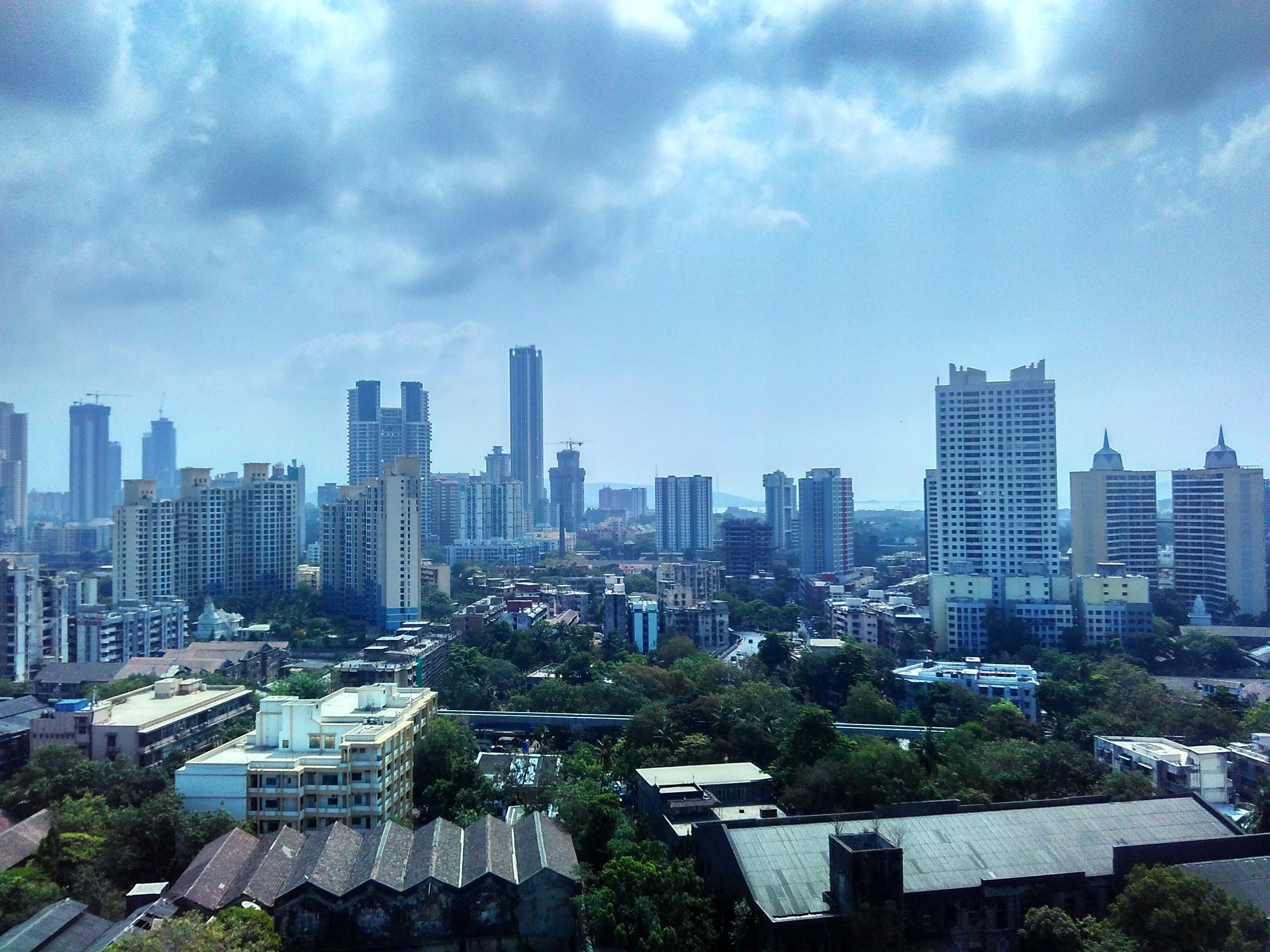 Δωρεάν στοκ φωτογραφιών με mumbai, αστικός, βομβάη, γραμμή ορίζοντα