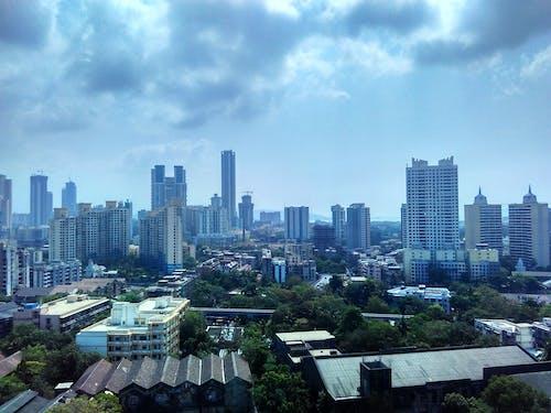 印度, 城市, 天際線, 孟買 的 免費圖庫相片