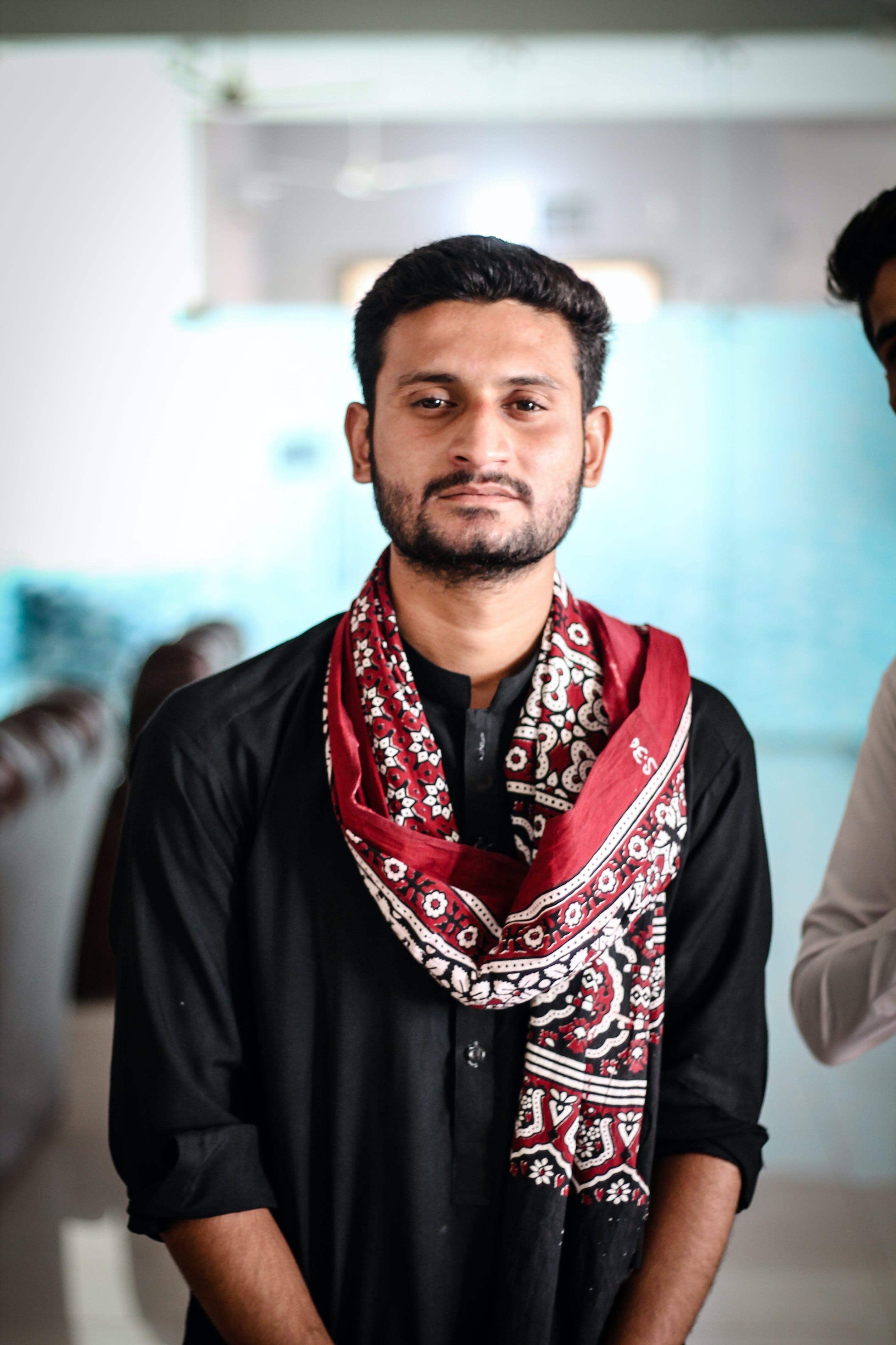 Free stock photo of Ajarak, Ajrak, Ali Madad Sakhirani, Black Suite