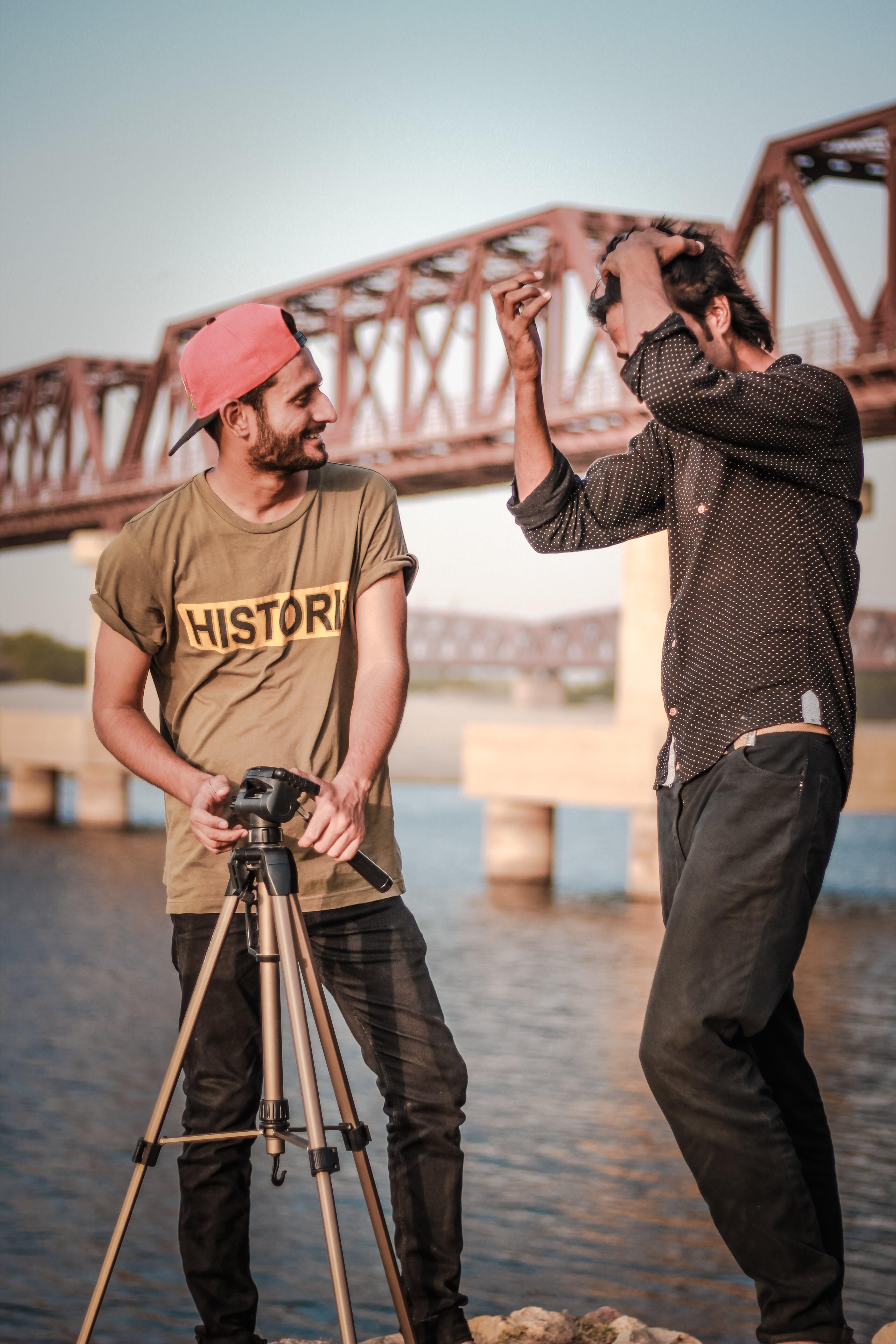 Free stock photo of Ali Madad Sakhirani, bridge, cap, fashion